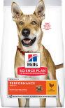Сухой корм для собак Hills Science Plan Performance для активных собак с курицей 12кг