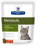 Сухой корм для кошек Hills Prescription Diet Metabolic для снижения и контроля веса с курицей 250г
