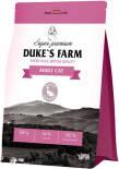 Сухой корм для кошек Dukes Farm Утка с кроликом 2кг