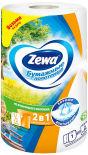 Бумажные полотенца Zewa 2в1 1 рулон 2 слоя