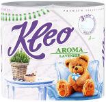 Туалетная бумага Kleo Aroma Lavender 4 рулона 3 слоя