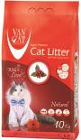 Наполнитель для кошачьего туалета Van Cat комкующийся 10кг