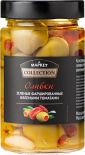 Оливки Market Collection зеленые фаршированные вялеными томатами 290г