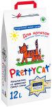Наполнитель для котят PrettyCat Wood Granules 12л