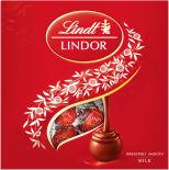 Набор конфет Lindt Lindor из молочного шоколада с начинкой 125г