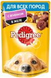 Корм для собак Pedigree с ягненком в желе 85г