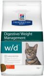 Сухой корм для кошек Hills Prescription Diet w/d при сахарном диабете с курицей 5кг