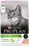 Сухой корм для стерилизованных кошек Pro Plan Optirenal Sterilised с лососем 3кг