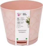 Горшок для цветов InGreen Easy Grow Розовый сад 2л