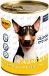 Корм для собак Мнямс Здоровые Суставы Кусочки в соусе с говядиной и печенью 400 г