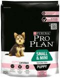 Сухой корм для щенков Pro Plan Optiderma Small&Mini Puppy Sensitive Skin для мелких пород для здоровья кожи и шерсти с лососем 700г