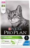 Сухой корм для стерилизованных кошек Pro Plan Optirenal Sterilised с кроликом 3кг