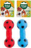 Игрушка для собак Triol Гантель футбольная в ассортименте 13см