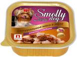 Корм для собак Smolly dog Натуральное мясо в желе Ягненок с сердцем 100г