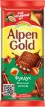 Шоколад Alpen Gold Молочный с Фундуком 85г
