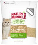 Наполнитель для кошачьего туалета NM Premium Natural Care кукурузный 10л