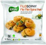 Пирожки Ioniki с сыром Фета шпинатом и оливковым маслом 500г