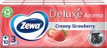 Носовые платки Zewa Deluxe Creamy Strawberry 10*10шт