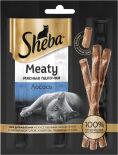 Лакомство для кошек Sheba Meaty мясные палочки Лосось 3*4г