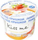 Мороженое Kiss me Французское клубничное суфле с зефиром 12% 125г