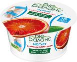 Йогурт Bio Баланс Красный апельсин 1.8% 130г