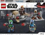 Конструктор LEGO Star Wars Mandalorian 75267 Боевой набор: мандалорцы