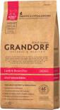 Сухой корм для собак Grandorf Medium Ягненок с рисом 12кг