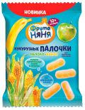 Палочки кукурузные ФрутоНяня Яблоко и банан 20г
