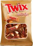 Печенье песочное Twix Minis с карамелью и шоколадом 20шт*9.2г