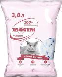 Наполнитель для кошачьего туалета Хвостун силикагелевый 3.8л