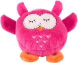 Игрушка мягкая Button Blue Мячик-сова розовая 7см