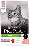 Сухой корм для стерилизованных кошек Pro Plan Optisenses Sterilised с лососем 3кг