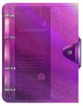 Тетрадь на кольцах Paper Art Chameleon A5 120л в ассортименте