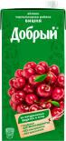 Нектар Добрый Яблоко-вишня-черноплодная рябина 2л