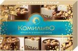 Конфеты Комильфо шоколадные Миндаль и крем-карамель 116г