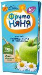 Напиток ФрутоНяня Яблоко с липой и ромашкой с 6 месяцев 200мл