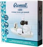Полка Gromell Ark угловая для ванной