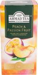 Чай черный Ahmad Tea Peach & Passion Fruit 25 пак