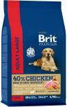 Сухой корм для собак Brit Premium Adult L 8кг