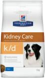 Сухой корм для собак Hills Prescription Diet k/d при заболеваниях почек с курицей 12кг