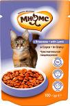 Корм для кошек Мнямс Чувствительное пищеварение с ягненком в соусе 100г