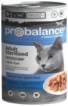 Влажный корм для кошек Probalance стерилизованных и кастрированных 415г