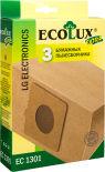 Мешок-пылесборник EcoLux Extra EC1301 бумажный для пылесосов LG 3шт