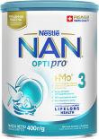 Смесь NAN 3 OPTIPRO молочная 400г