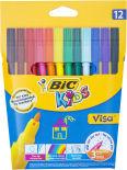 Набор фломастеров Bic Kids Visa 880 12 цветов