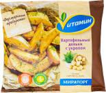 Картофельные дольки Vитамин с укропом 400г