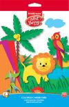 Цветной картон Art Berry В5 10 цветов