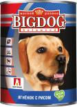 Корм для собак Зоогурман Big Dog balanced Ягненок с рисом 850г