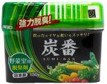 Поглотитель неприятных запахов Kokubo для овощного отделения холодильника с древесным углем 150г