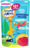Кусочки фруктовые ФрутоНяня Яблоко клубника банан 15г